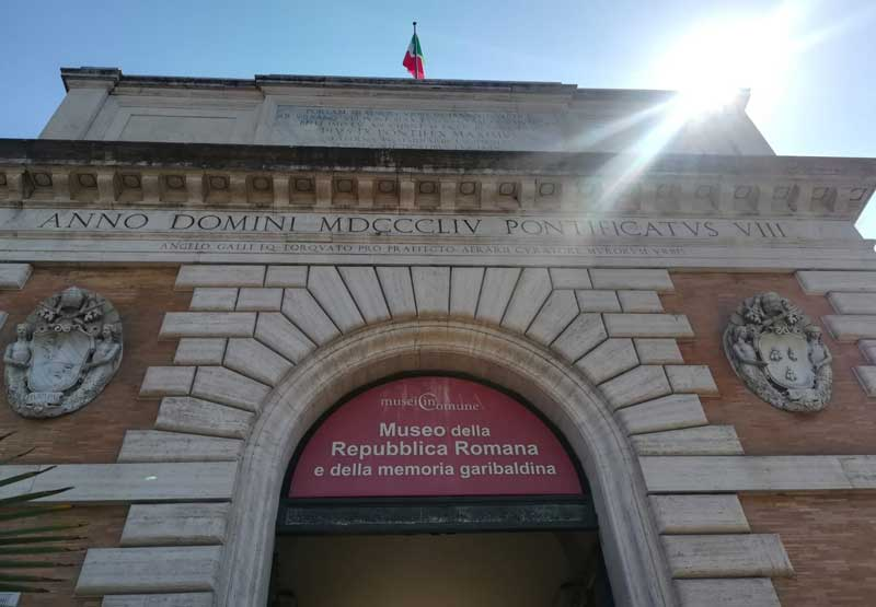 puerta san pancrazio roma