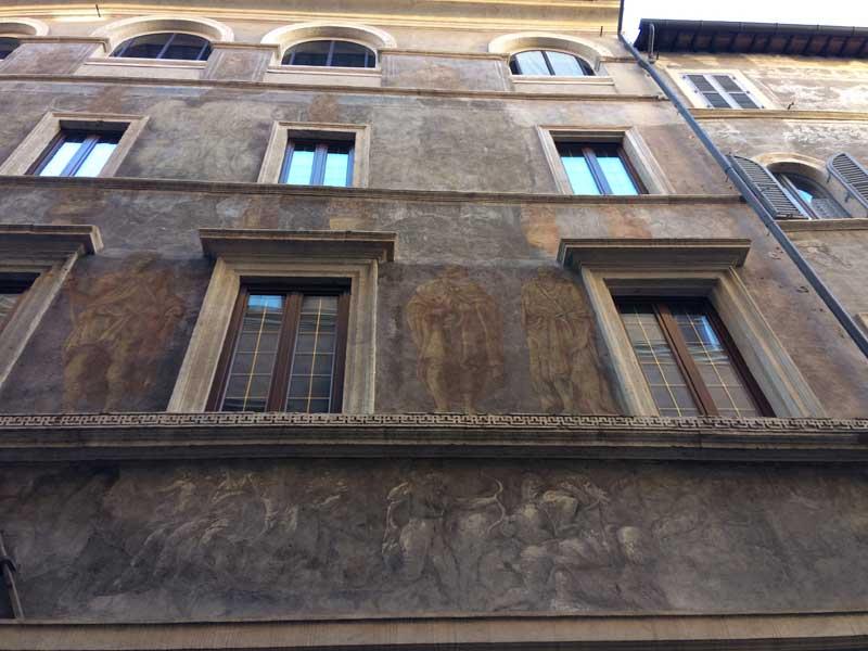 fachada palazzo milesi
