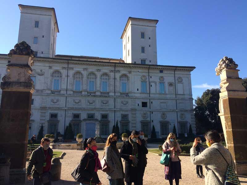 visita villa borghese casino nobile