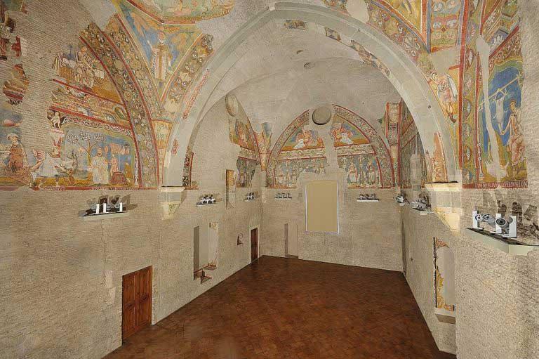 aula gotica santos cuatro coronados