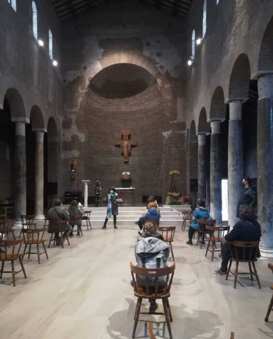 interior san lorenzo in piscibus