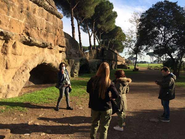 parque acueductos visita guiada