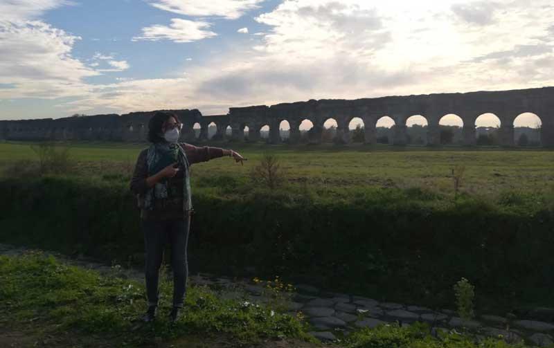 visita guiada parque acueductos roma