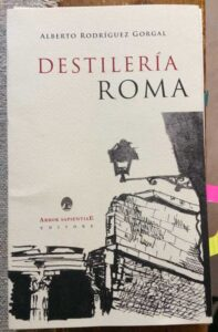 libro destileria roma