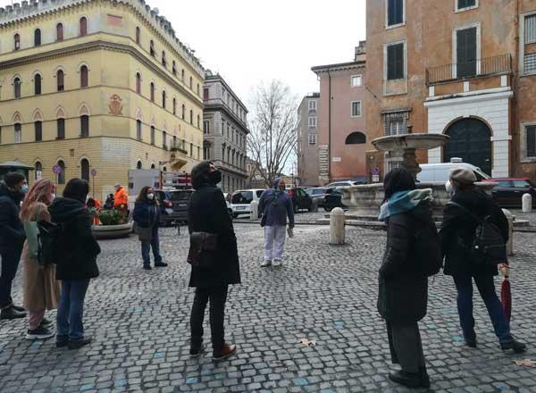 visita guiada familias de roma