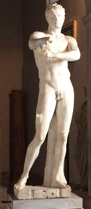 apoxyomenos museos vaticanos