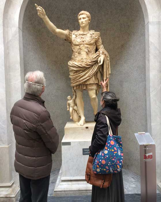 augusto prima porta obras maestras vaticano