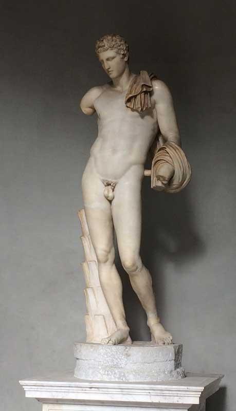 escultura mercurio psicopompos vaticano
