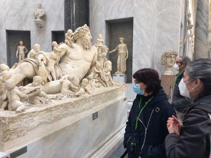 escultura rio nilo brazo nuevo museos vaticanos