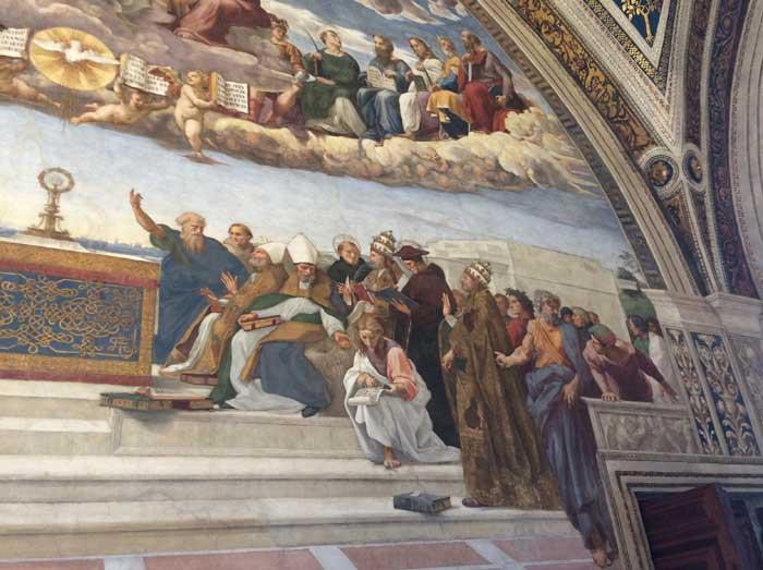estancias rafael vaticano