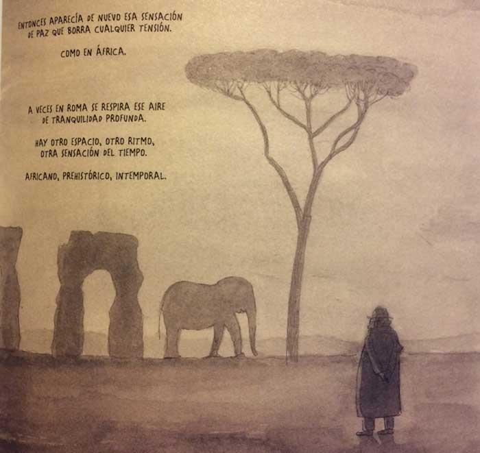 fellini imagina acueductos en roma