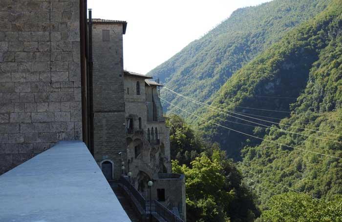 monasterio santa escolastica subiaco