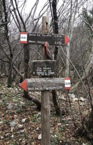 senderos montes cerca roma