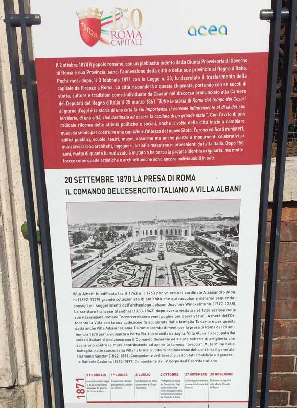 villa albani roma capital italia