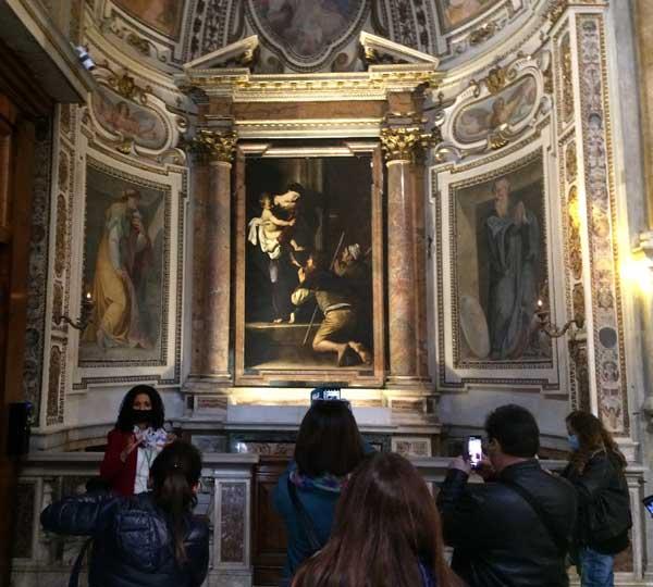 visita sant agostino caravaggio