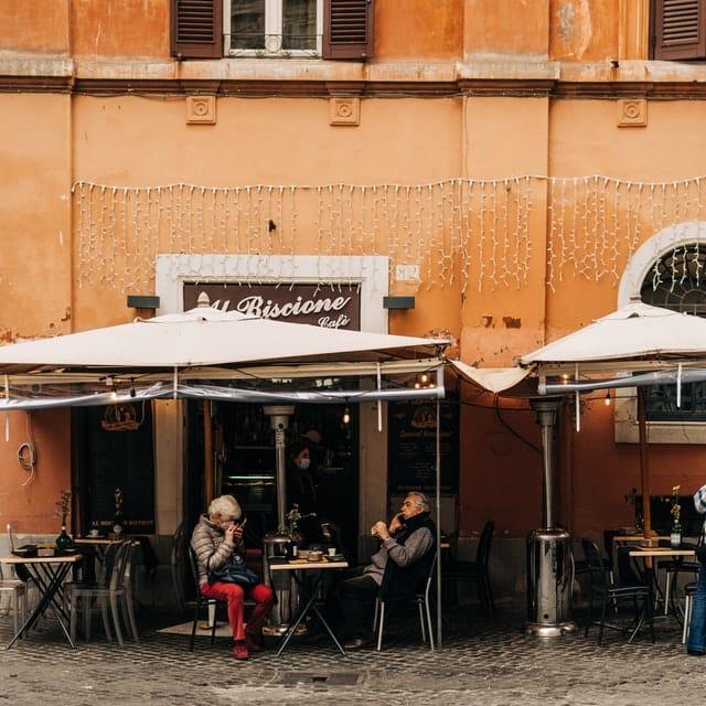 café en roma