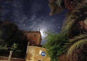 paseando por roma de noche