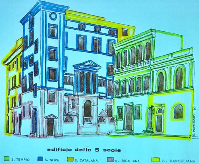 edificio 5 scole ghetto