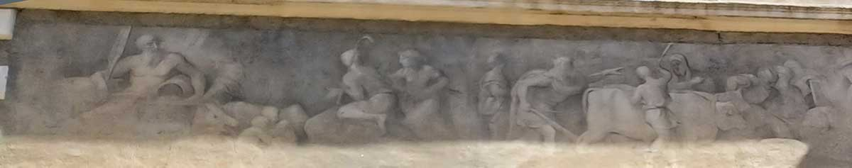 romulo remo fundacion roma palacio ricci