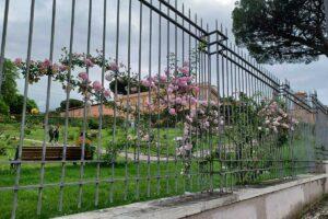 roseto comunale roma