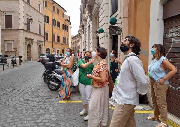visita guiada por algunos lugares de España en Roma