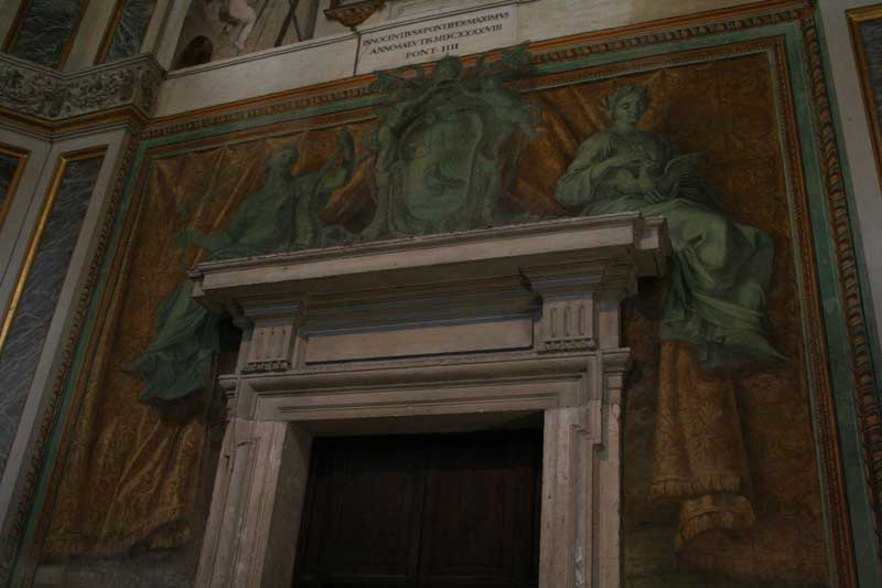 baptisterio laterano entrada san venanzio