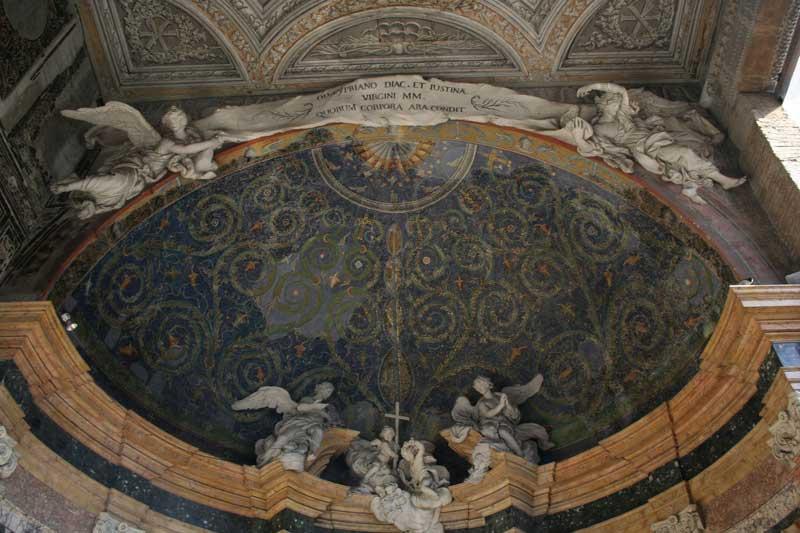 mosaico capilla baptisterio lateranense