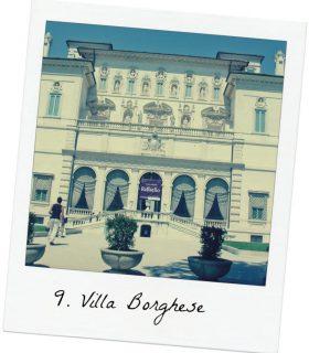 Galeria Borghese 10 lugares turisticos