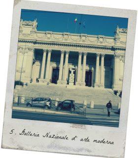 Galleria nazionale d'arte moderna turismo