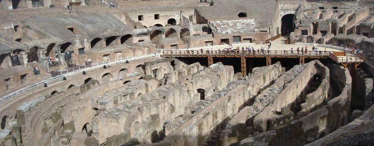coliseo romano interior