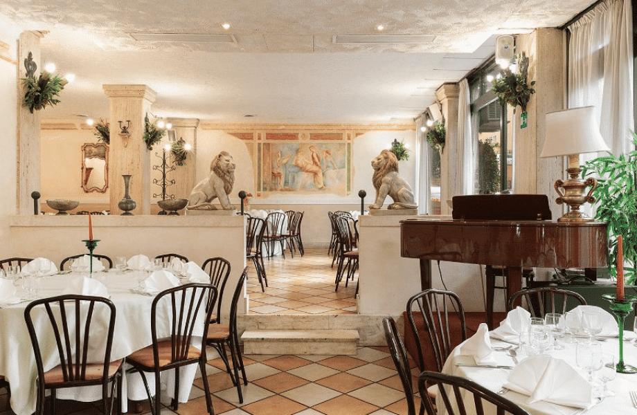 Restaurante en Roma Papa Rex