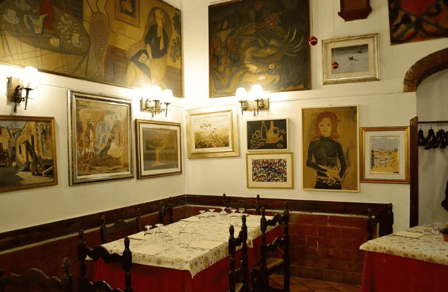 Restaurante en Roma Re degli Amci