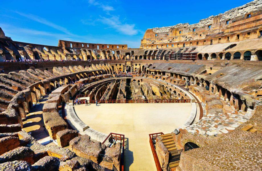Visita Subterraneos del Coliseo