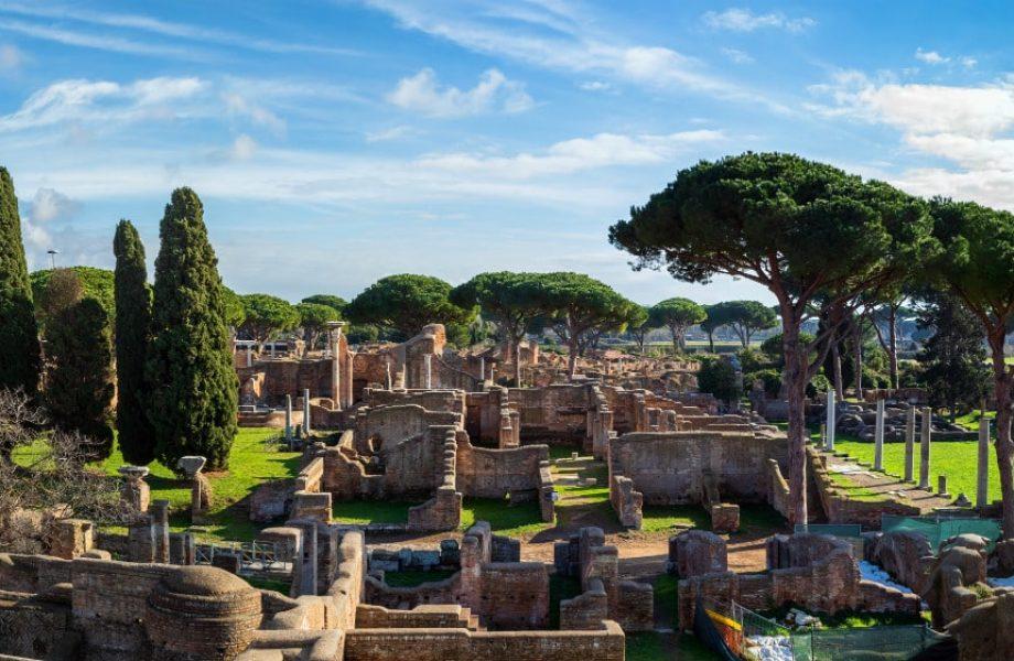 Zona Arquelogica Ostia Antica