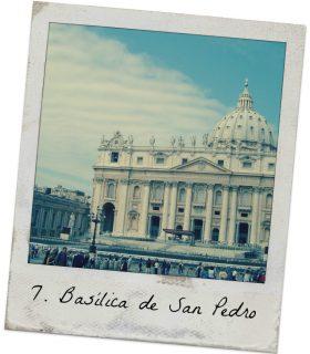 basilica san pedro lugares que visitar en Roma