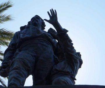 escultura ciceruacchio gianicolo