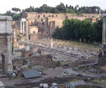 foro romano vistas