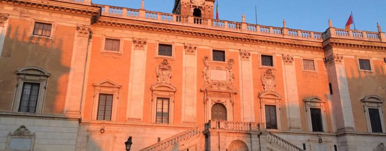 palacio ayuntamiento roma campidoglio