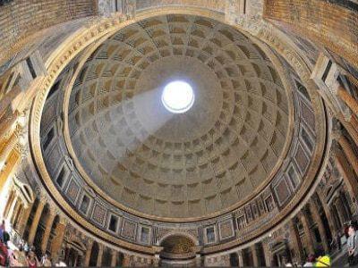 Panteón de Roma cúpula