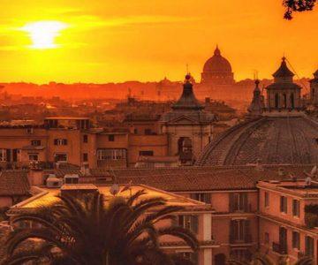 puesta del sol roma tour san valentin
