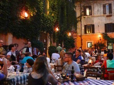 restaurantes trastevere