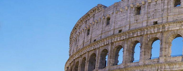 roma coliseo vista parte superior
