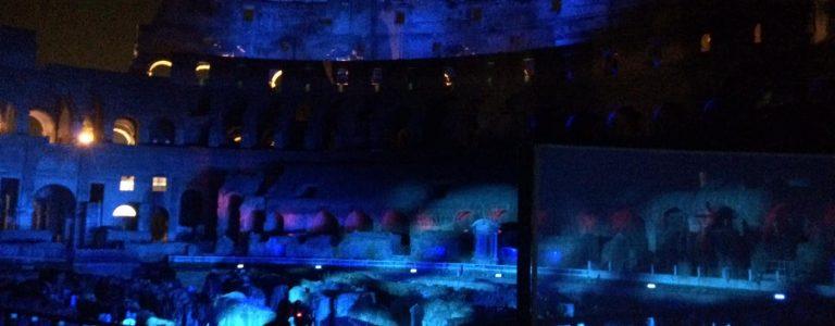 subterraneos coliseo noche