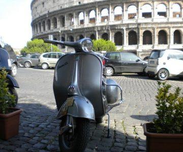 tour vespa en Roma