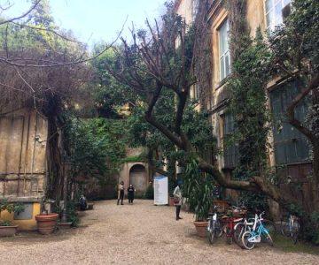 via margutta patio casa vacaciones en roma